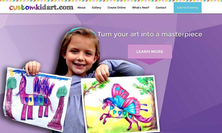 Custom Kid Art
