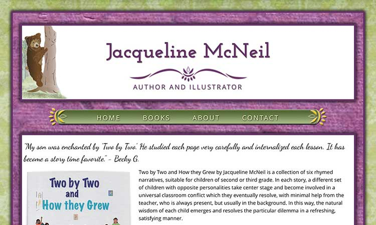 Jacquline McNeil - Author & Illustrator